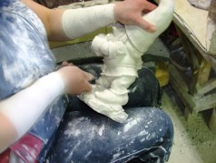Производство садовых фигурок